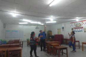 Hasta el momento se ha determinado que 6 colegios resultaron con daños y 26 resultaron afectados en su infraestructura como consecuencia del sismo de magnitud 8.0 que se registró esta madrugada en la región Loreto y se sintió en gran parte del norte del país y en la capital, informó la ministra de Educación, Flor Pablo Medina.