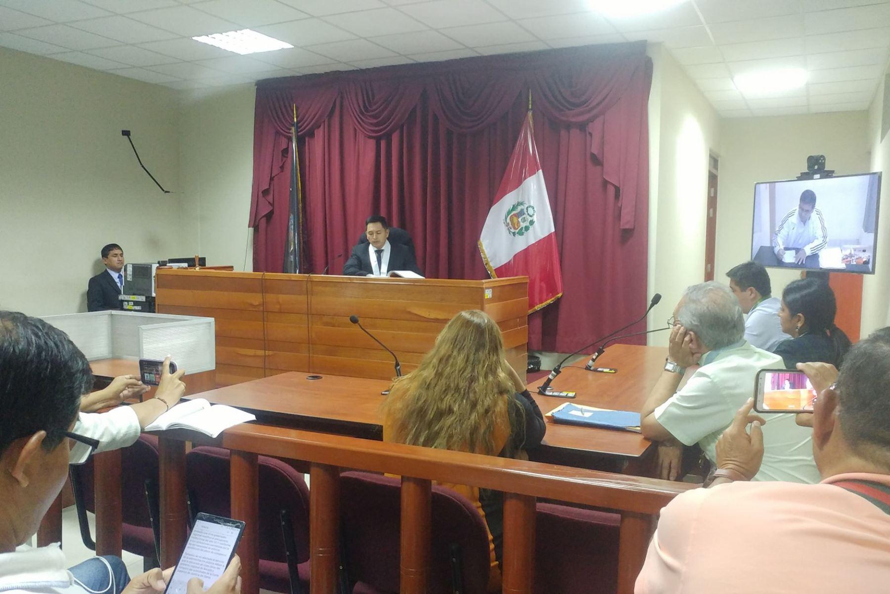 Juzgado de Chimbote absuelve a exgobernador de Áncash César Álvarez