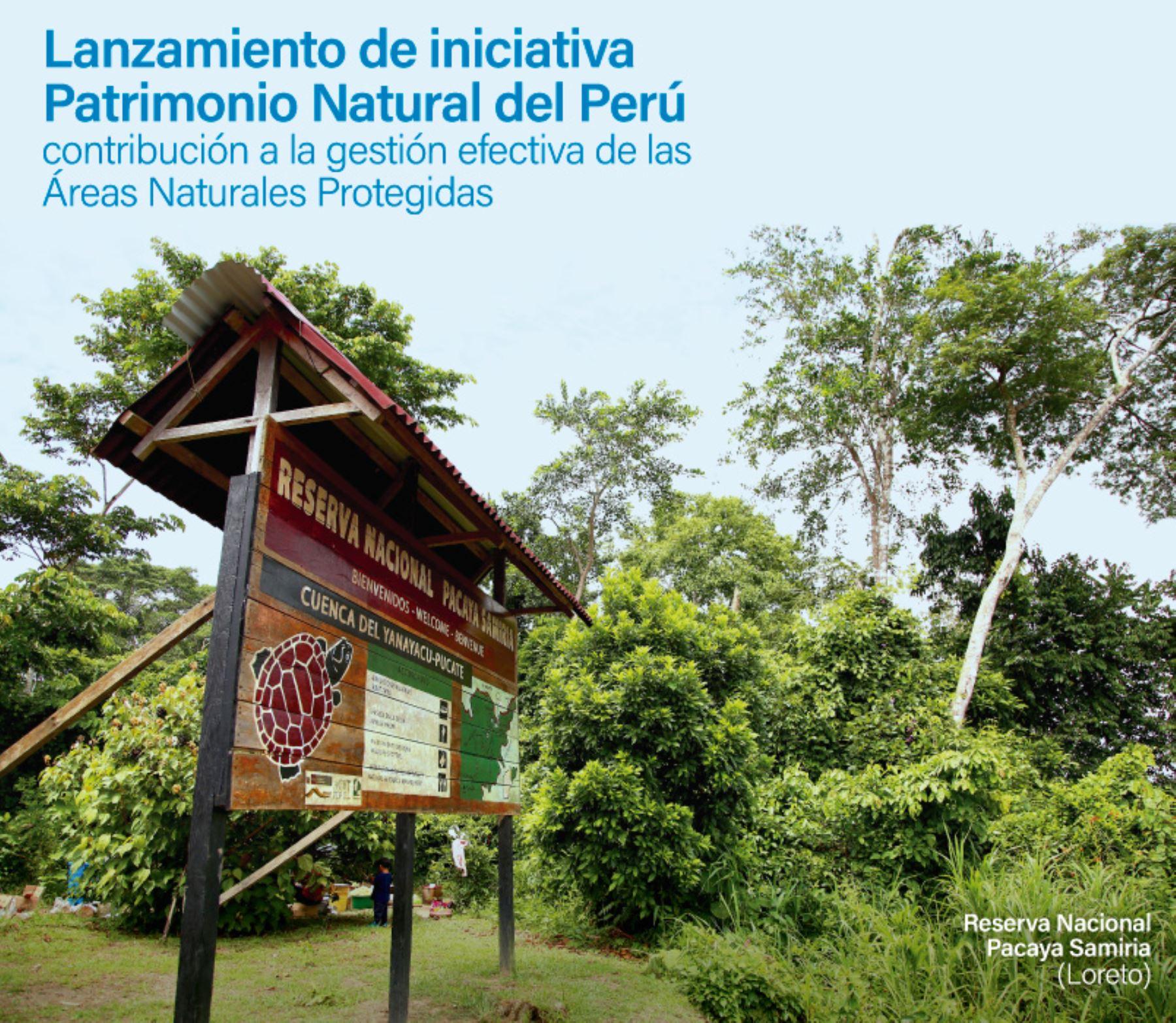 Iniciativa Patrimonio Natural del Perú del Ministerio del Ambiente