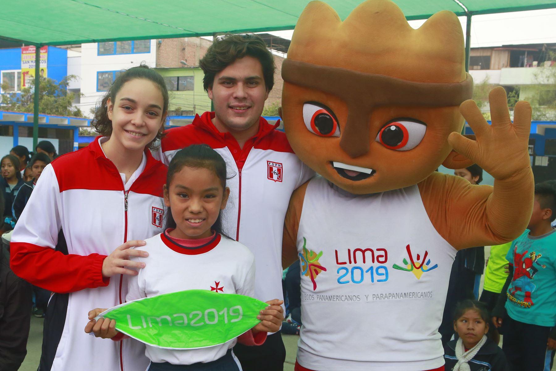 Juegos 2019 generan expectativa en la población.Foto: ANDINA/Héctor Vinces