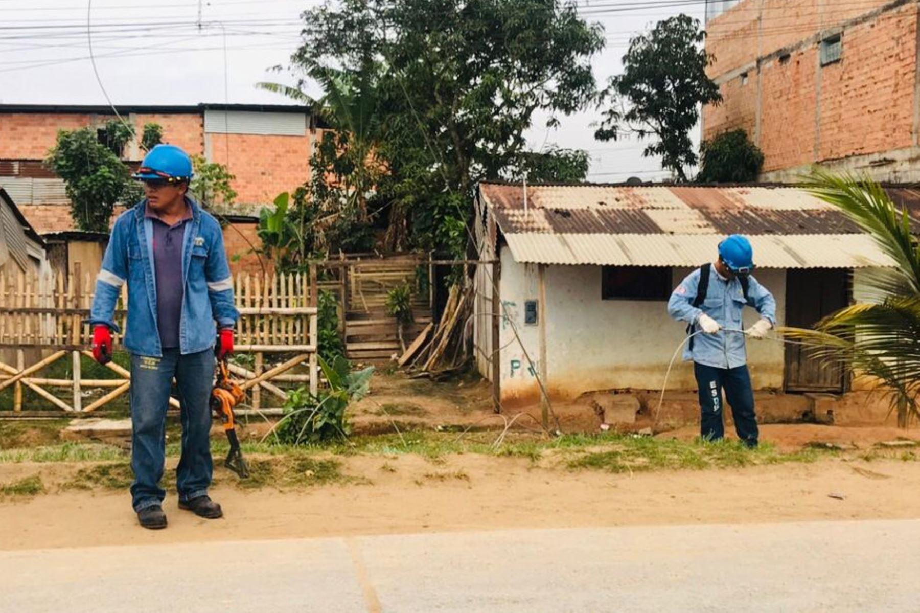 Brigadas técnicas de Electro Oriente aplican plan de contingencia para restablecer servicio eléctrico tras sismo en Loreto