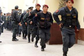 Al menos 2,000 efectivos policiales brindarán seguridad a los asistentes a Perumin 34 Convención Minera, que se desarrollará en la ciudad de Arequipa desde hoy lunes 16 al 20 de setiembre en el Centro de Convenciones de Cerro Juli.ANDINA/Difusión