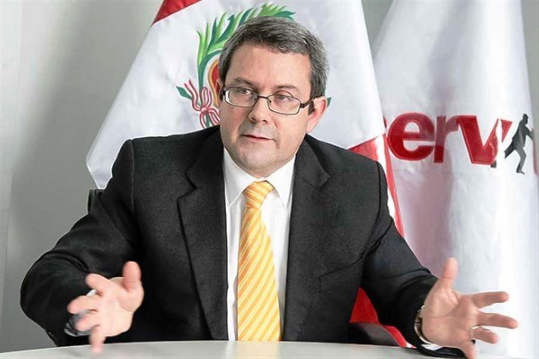 Juan Carlos Cortés, presidente ejecutivo de Servir. Foto: ANDINA/Difusión.