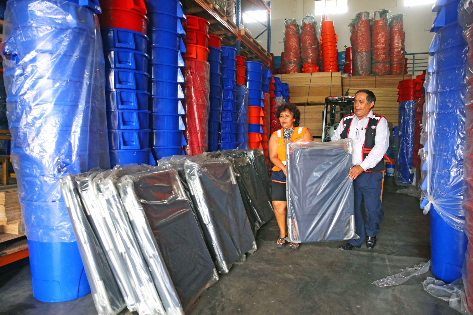 Centro de Operaciones de Emergencia Regional de Loreto. ANDINA/Vidal Tarqui