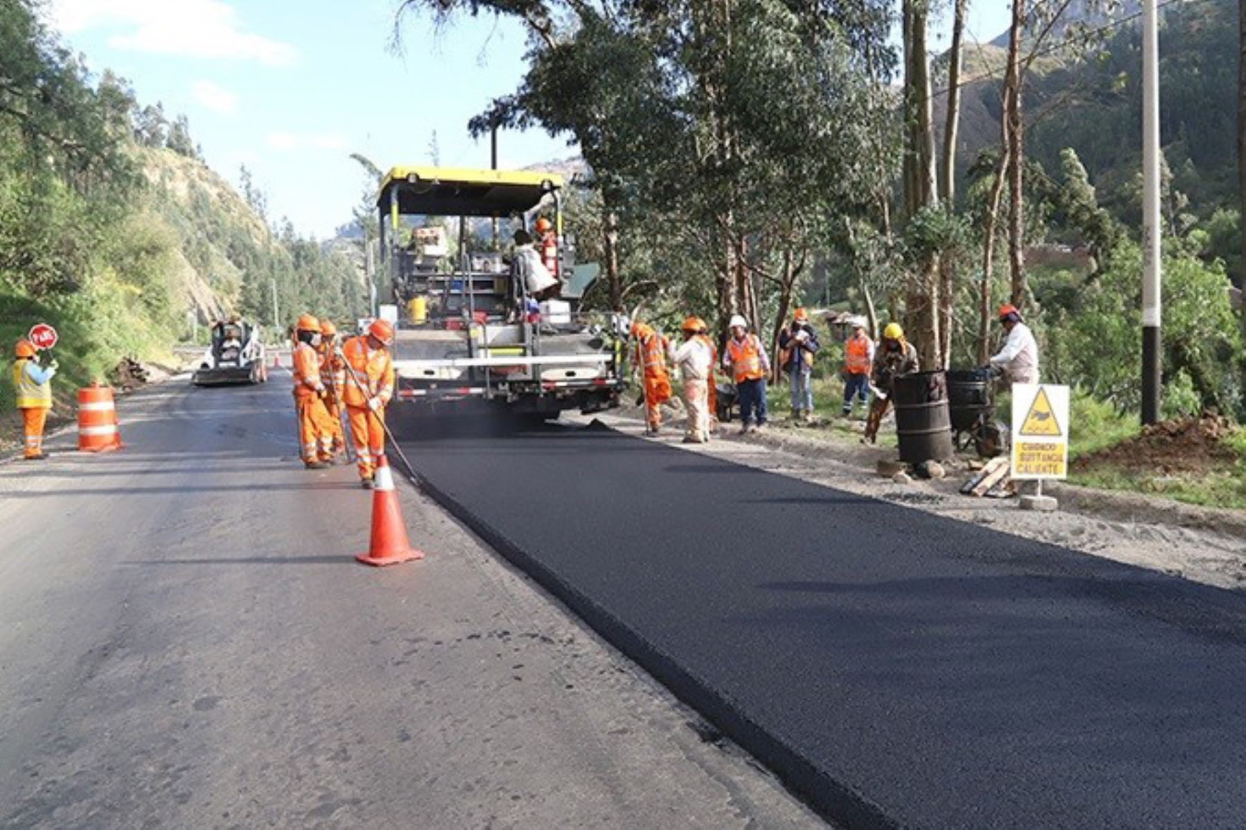 La Libertad: intervendrán más de 5,400 km de vías y 52 puentes este año, informó el MTC.. ANDINA/Difusión