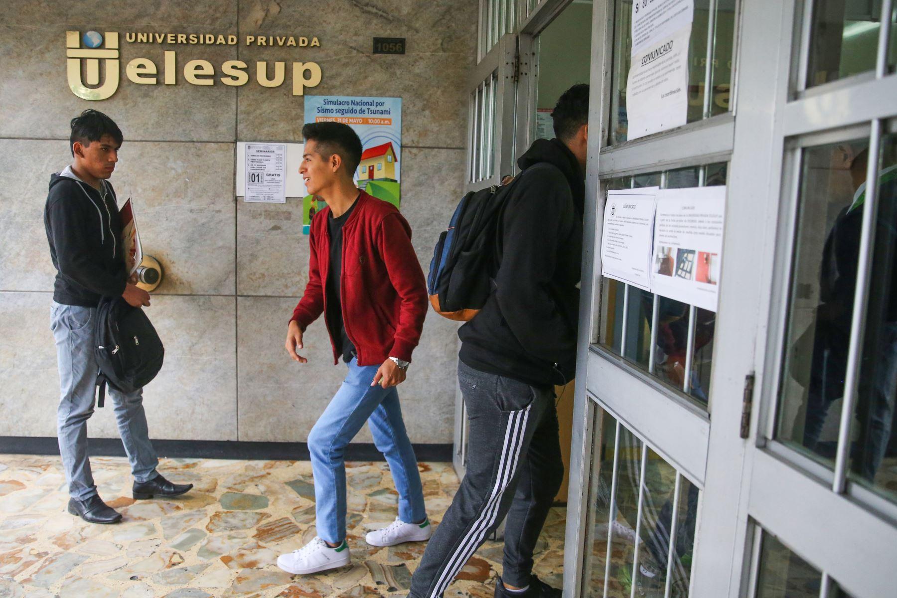 Tras negarse la licencia, universidad no podrá recibir nuevos estudiantes. Foto: ANDINA/Vidal Tarqui
