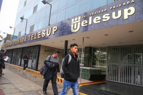 Consejo directivo de Sunedu emitió resolución que agota vía administrativa en caso Telesup. Foto: ANDINA/Vidal Tarqui