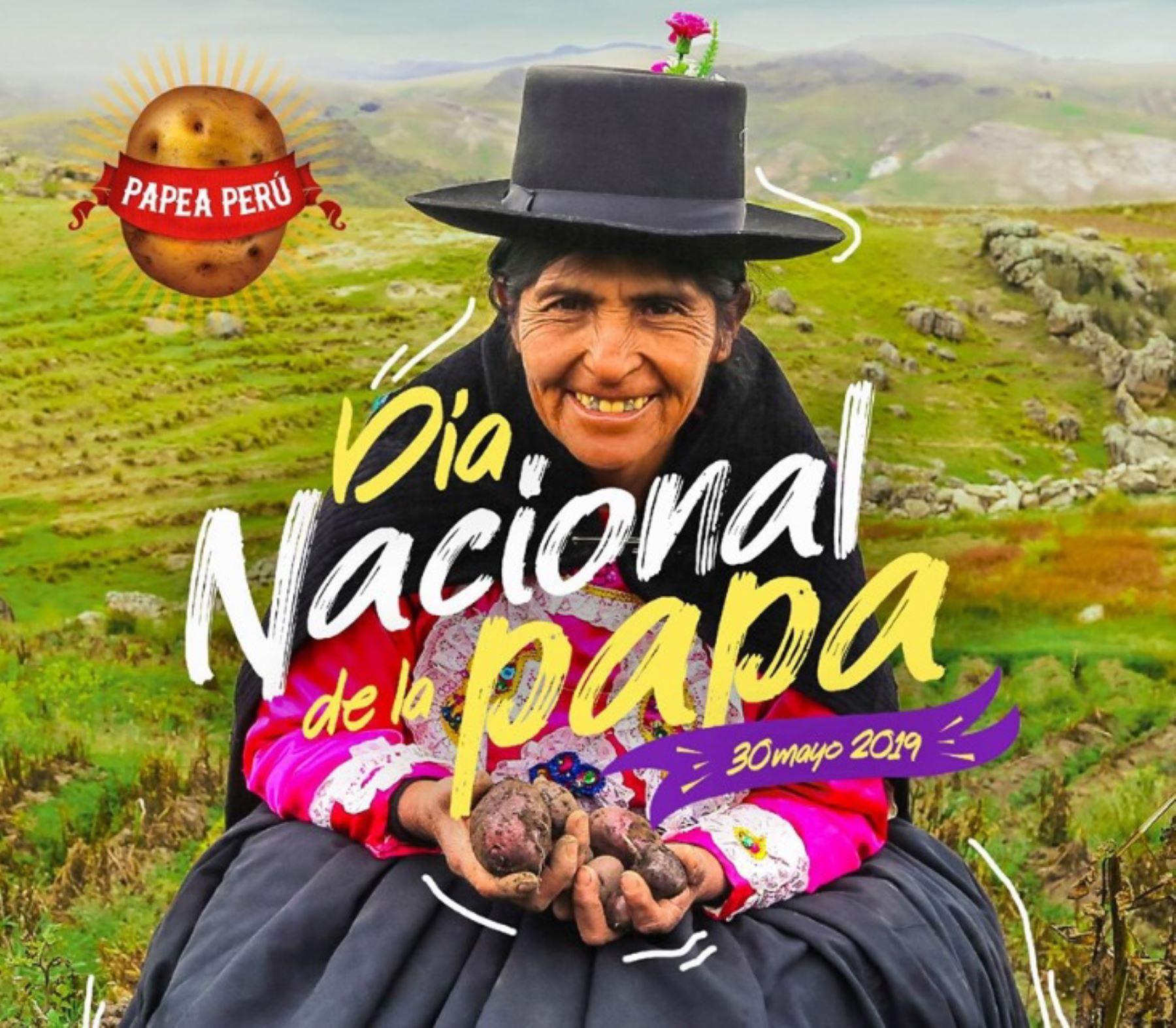 Día Nacional de la Papa. ANDINA/Difusión