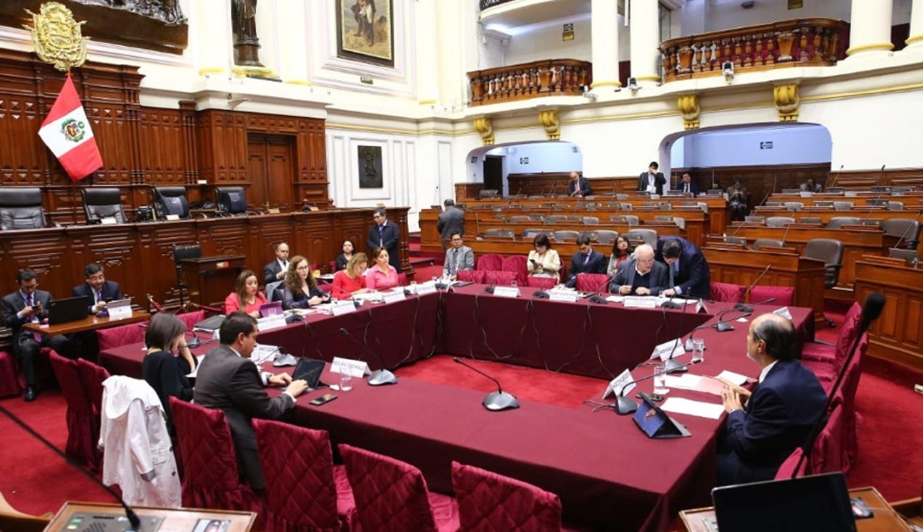 Comisión de Constitución artículo 112. Reforma política