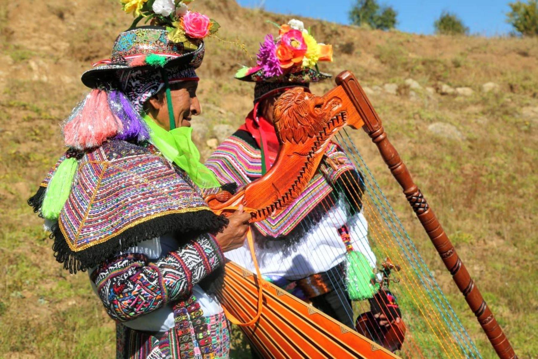 La ministra de Agricultura y Riego, Fabiola Muñoz llegó hasta la comunidad de Tacsana en el distrito de Yauli - Huancavelica, para celebrar el día nacional de la Papa.Foto: ANDINA/MINAGRI