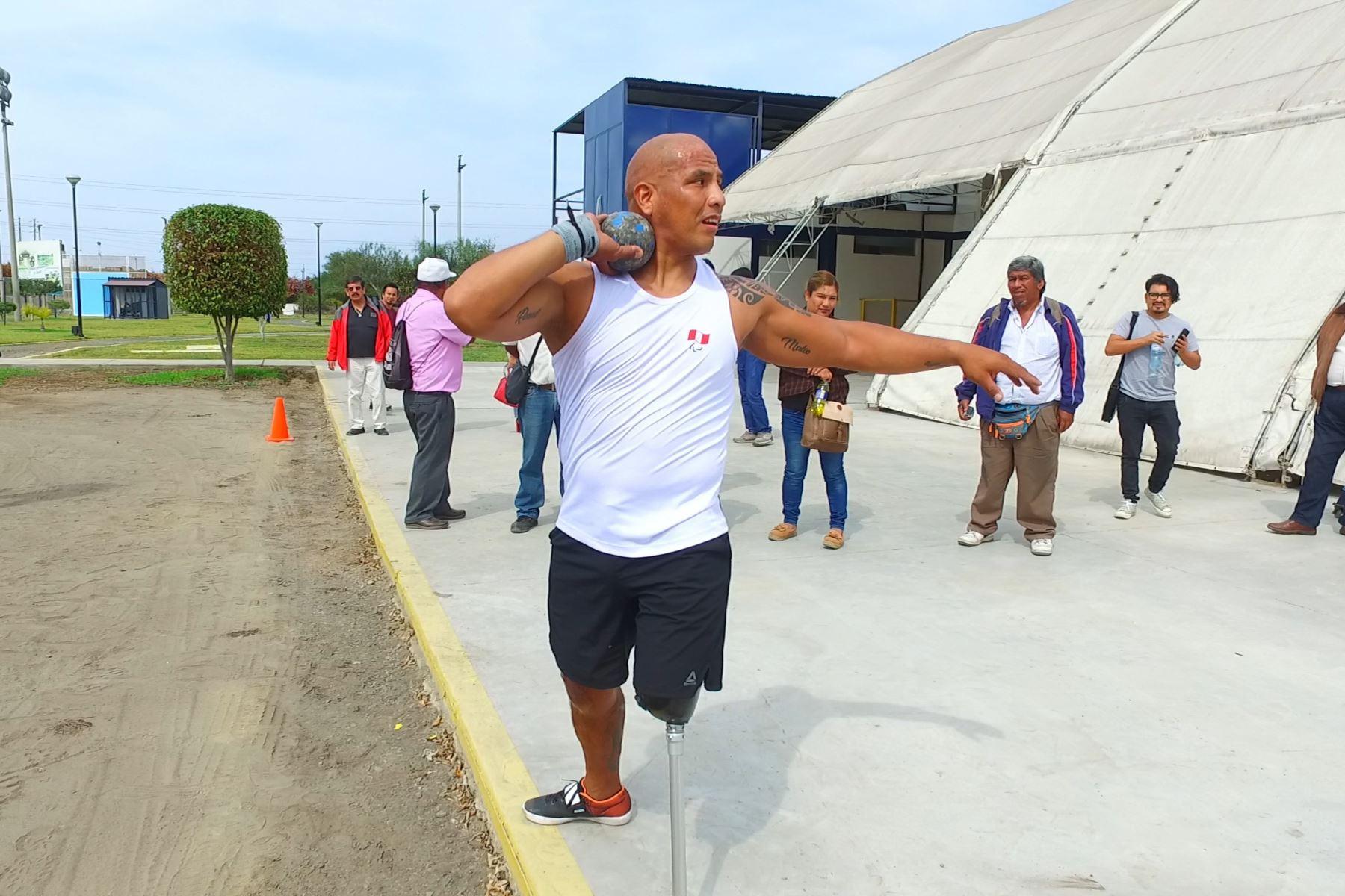 """Conoce a Carlos Felipa, el """"hombre de acero"""" que competirá en los Juegos Parapanamericanos Lima 2019. ANDINA/Gonzalo Horna"""