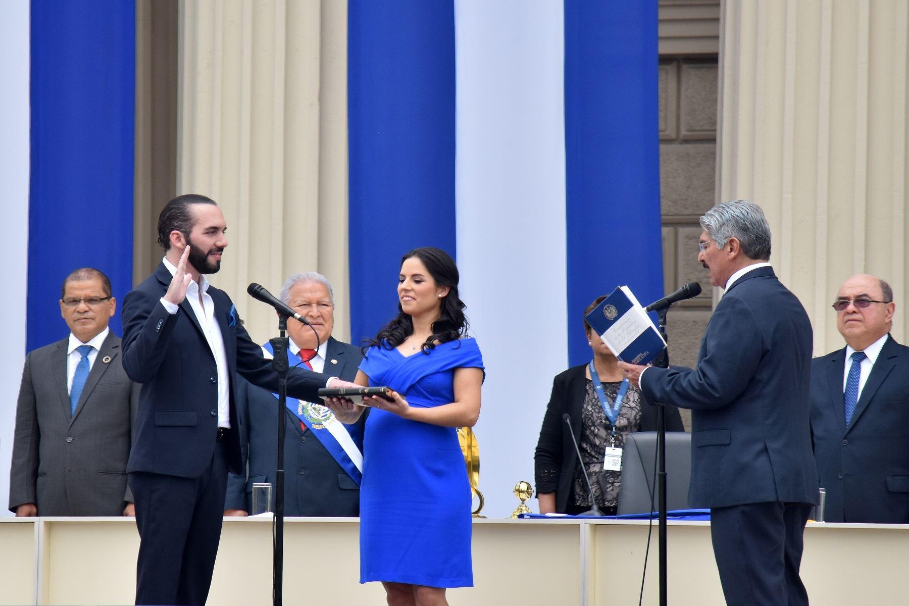 Presidente de El Salvador, Nayib Bukele. Foto: AFP.