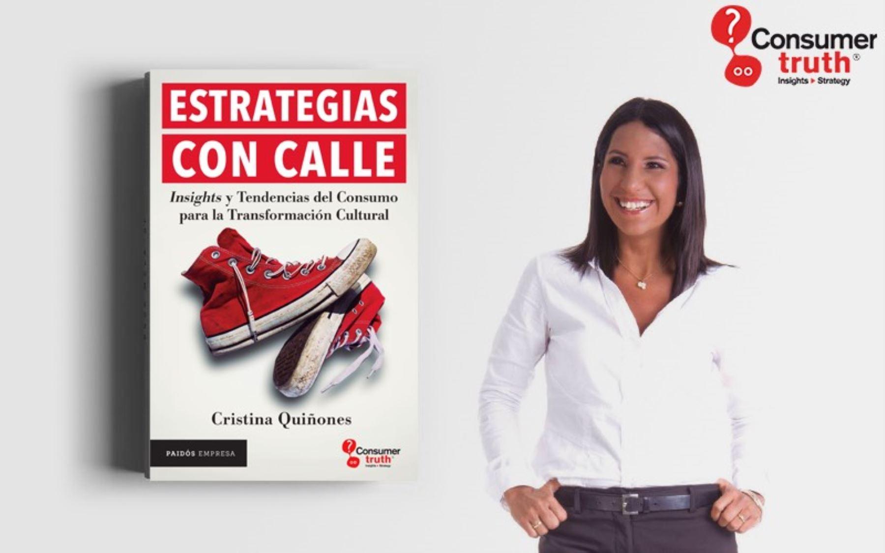 Publicista Cristina Quiñones.