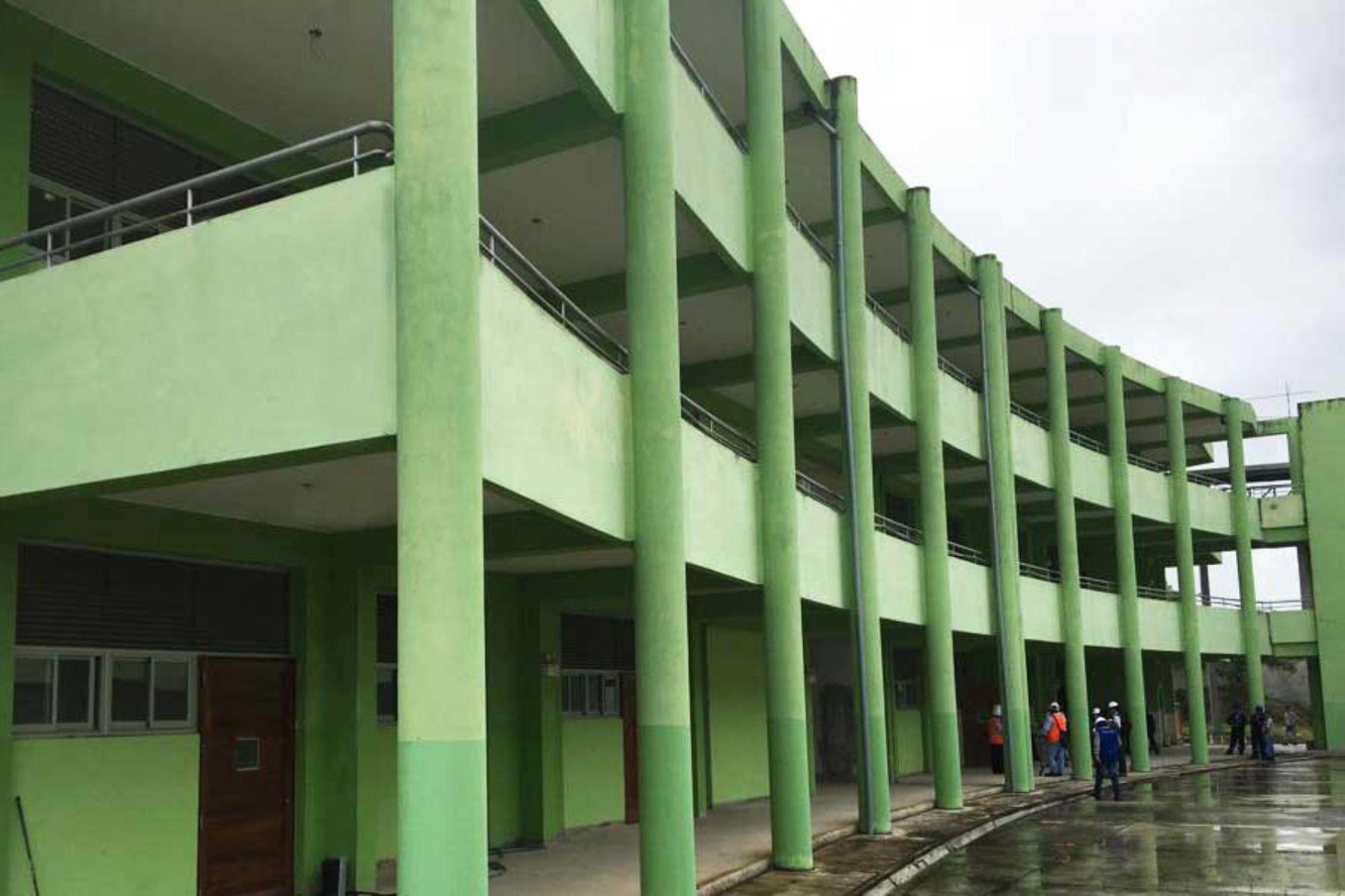 La brecha en infraestructura educativa se está reduciendo.Foto:  ANDINA/Difusión