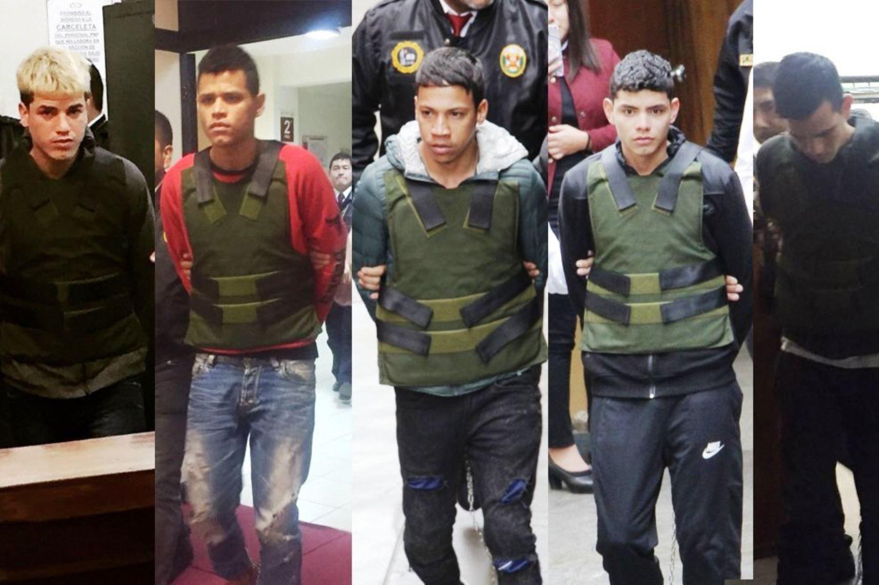 Condenan a prisión a venezolanos detenidos en Plaza Norte. Foto: ANDINA/Poder Judicial.