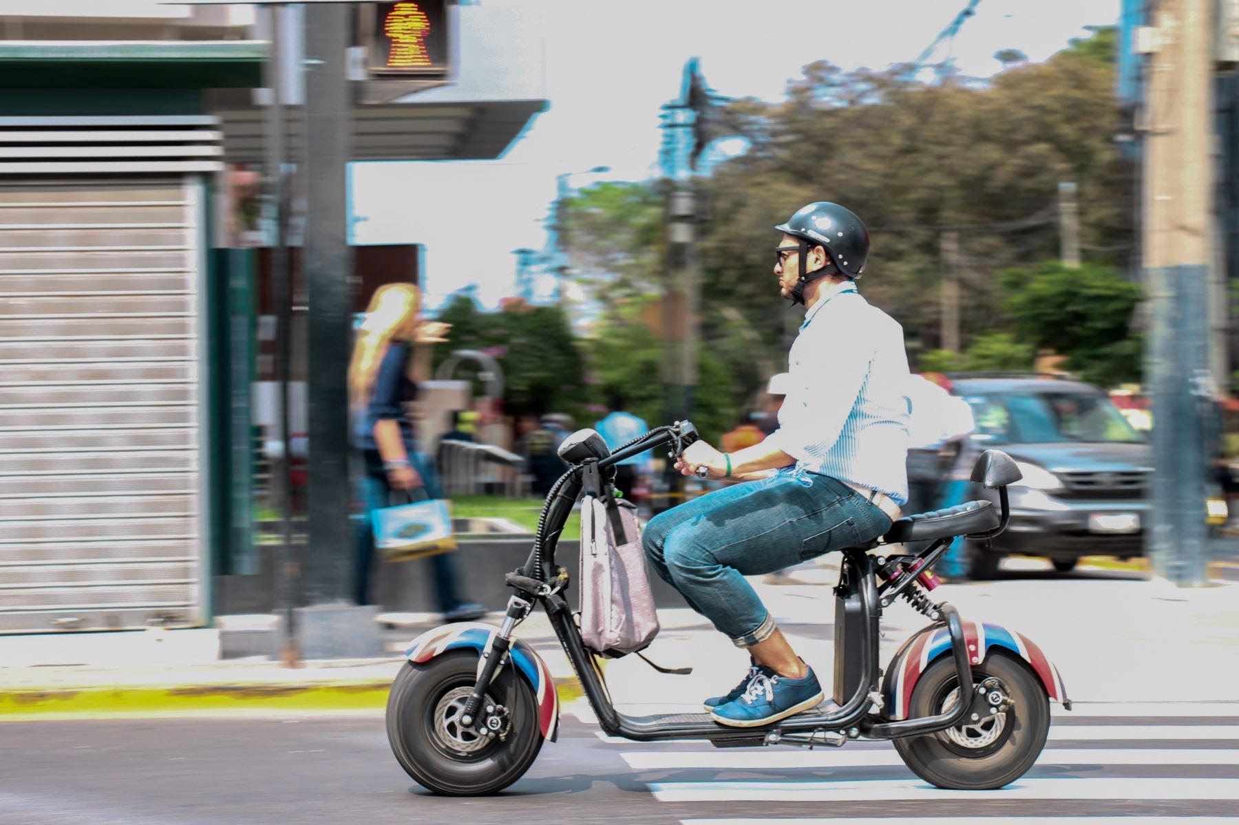 Este tipo de vehículo debe contar con placa única de rodaje y Soat. Foto: Andina/Difusión
