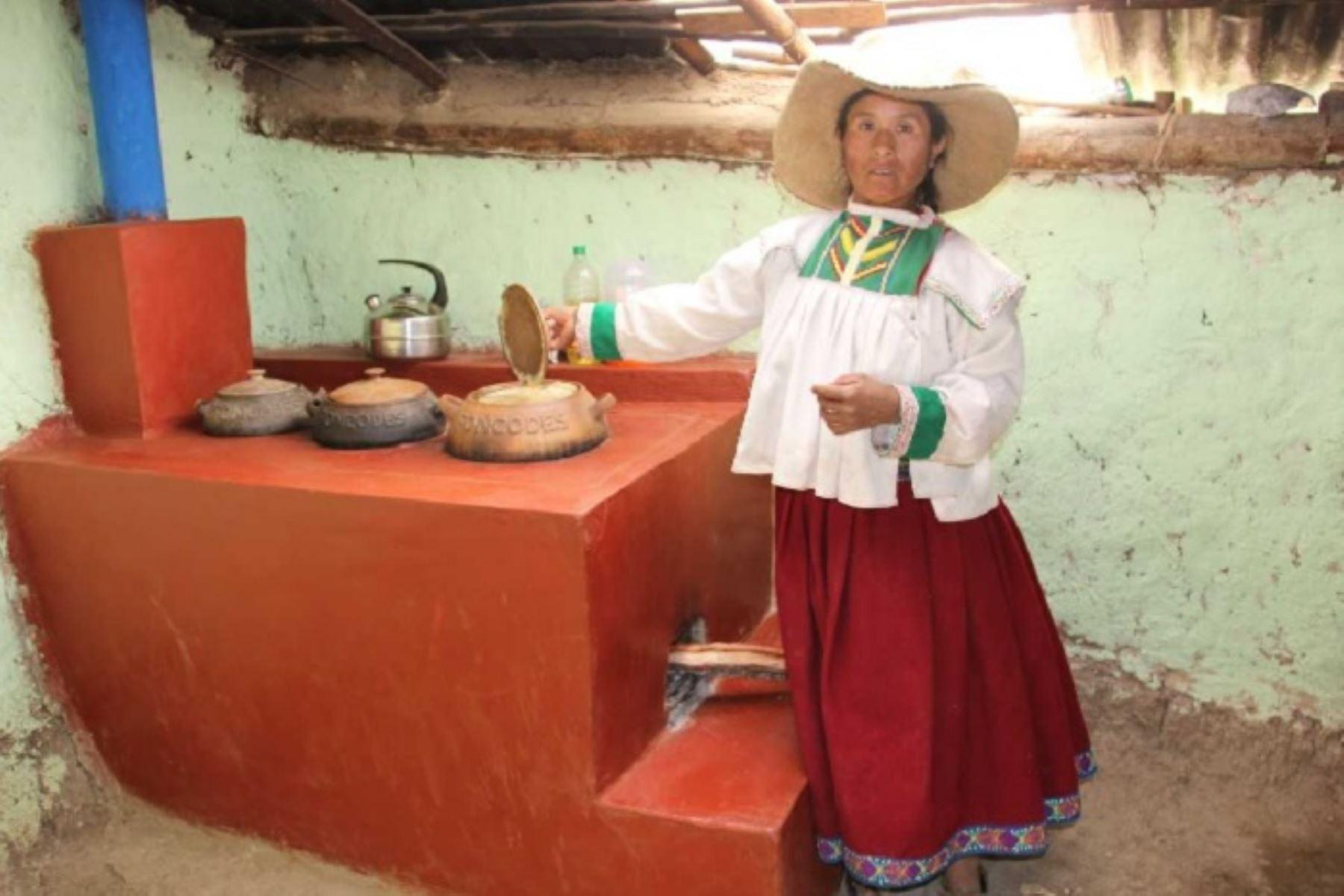 En las viviendas de las familias usuarias del proyecto Haku Wiñay/Noa Jayatai, en  la Sierra y Selva, respectivamente, se han instalado 167,974 cocinas mejoradas a leña, hecho que redujo el monóxido de carbono (CO) en 2´177,880 toneladas métricas, equivalente al 17% de emisiones.