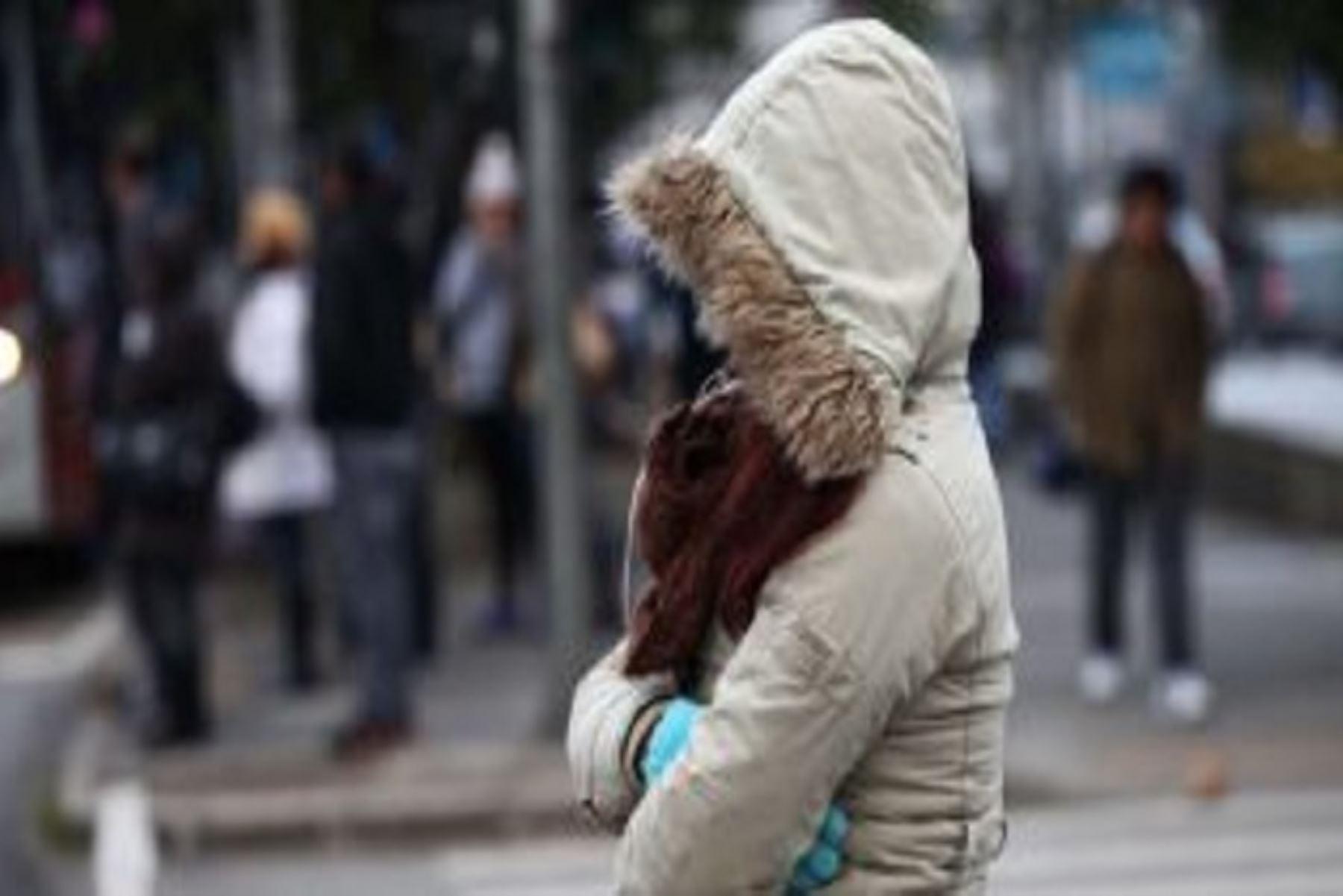 En zonas costeras sensación térmica de frío es mayor por alta humedad