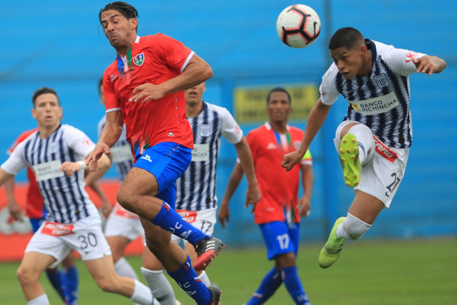 Jugador Kevin Quevedo. Alianza Lima empató 1-1 ante Unión Comercio   Foto: ANDINA/Juan Carlos Guzmán Negrini.