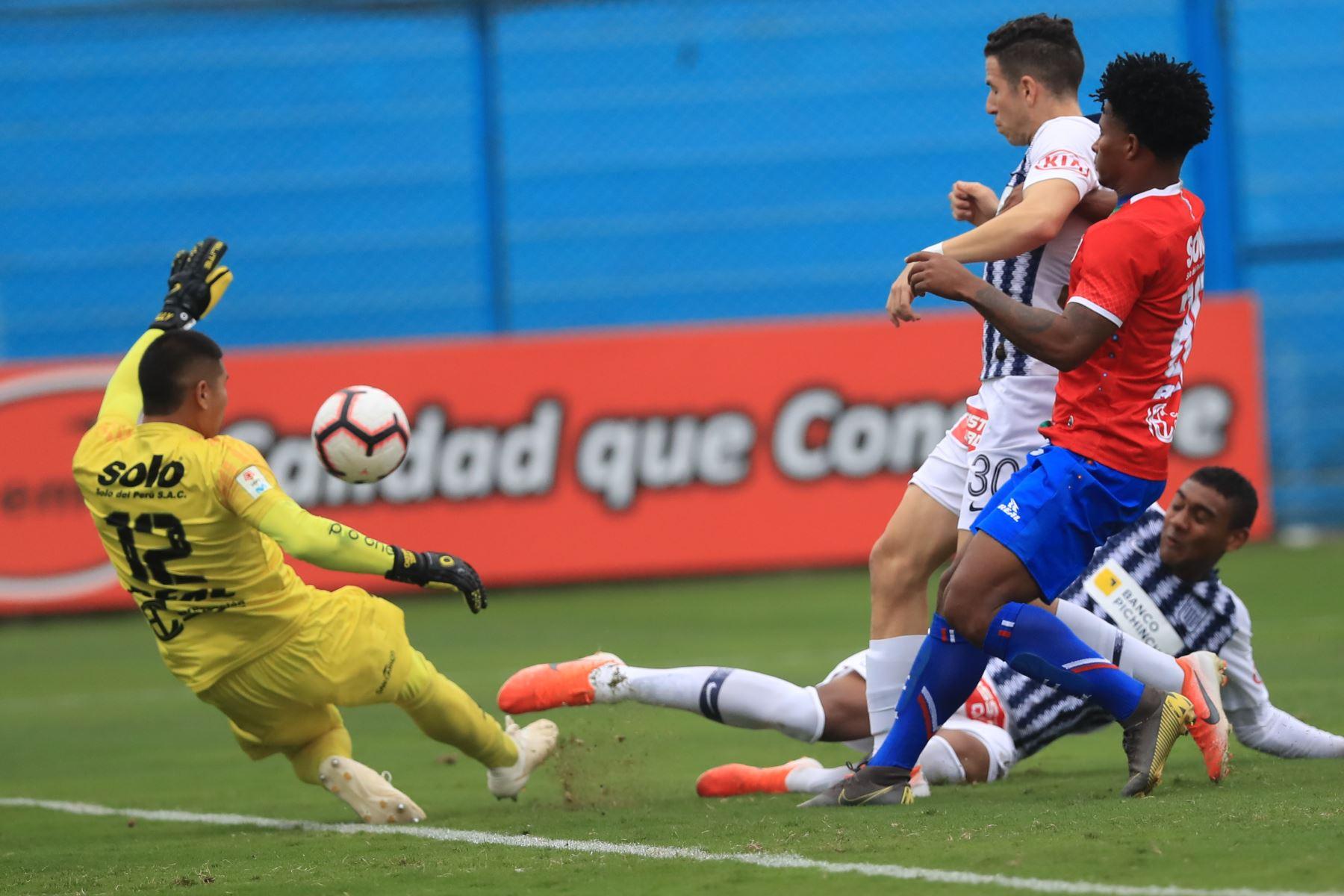Alianza Lima empató 1-1 ante Unión Comercio   Foto: ANDINA/Juan Carlos Guzmán Negrini.