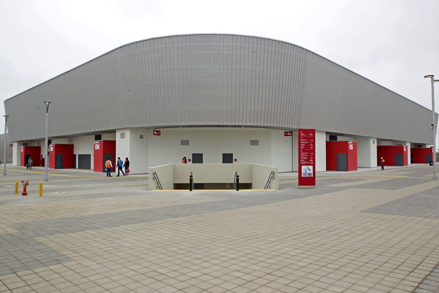 Lima 2019 entrega Polideportivo de Villa El Salvador a Federación de Gimnasia