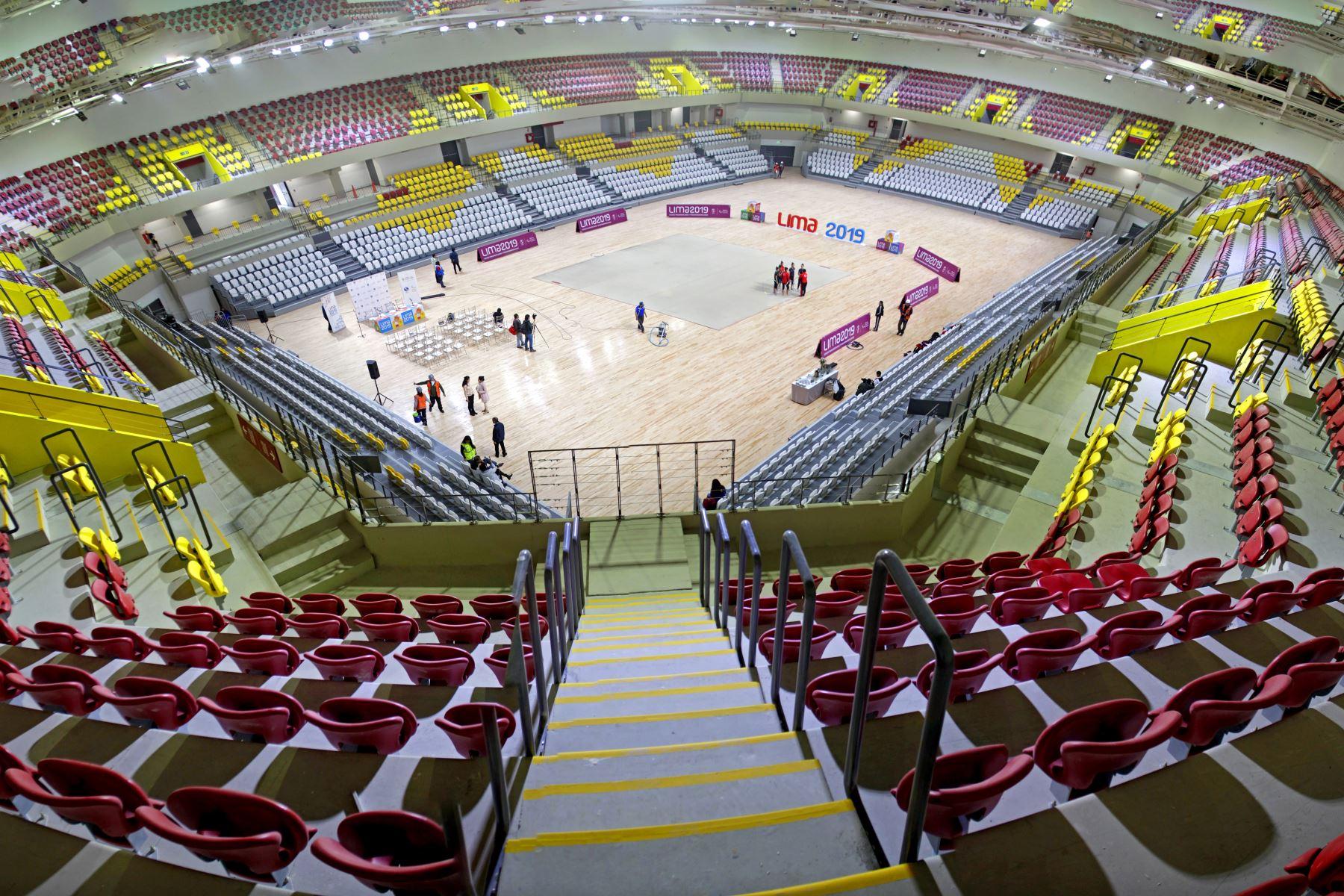 Lima 2019 entrega Polideportivo de Villa El Salvador a Federación de Gimnasia. Foto:Lima 2019