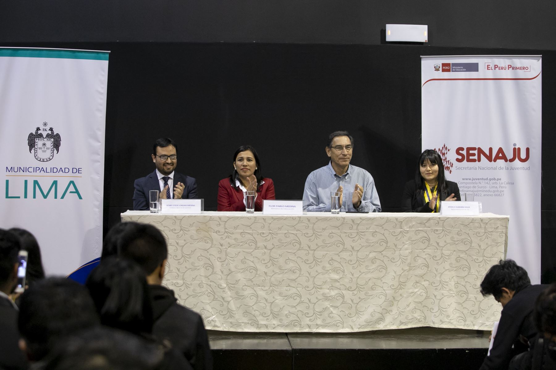 Presidente Vizcarra participa de Foro Regional de Juventud de Lima Metropolitana. Foto:Andina/ Prensa Presidencia