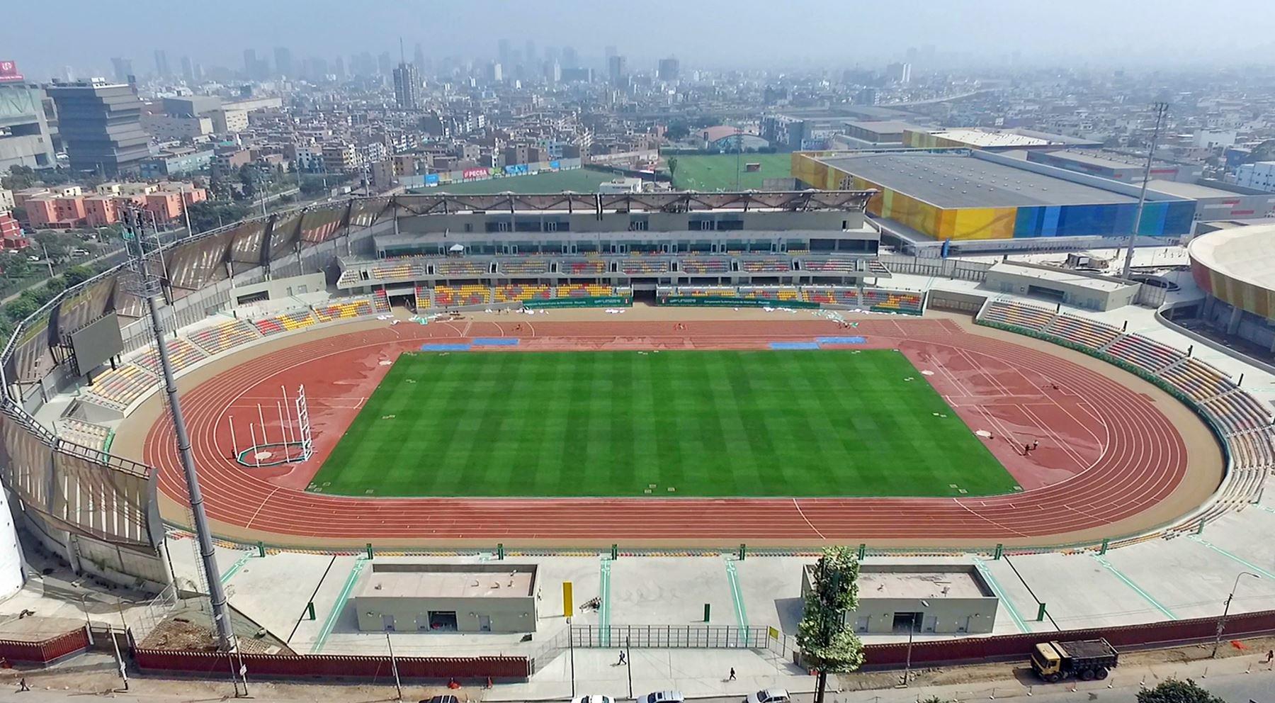 Estadio Atletico de la Videna. Foto: ANDINA/Difusión
