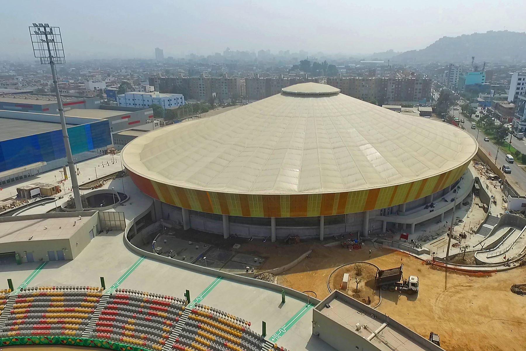 Velodromo La Videna. Foto:Lima 2019