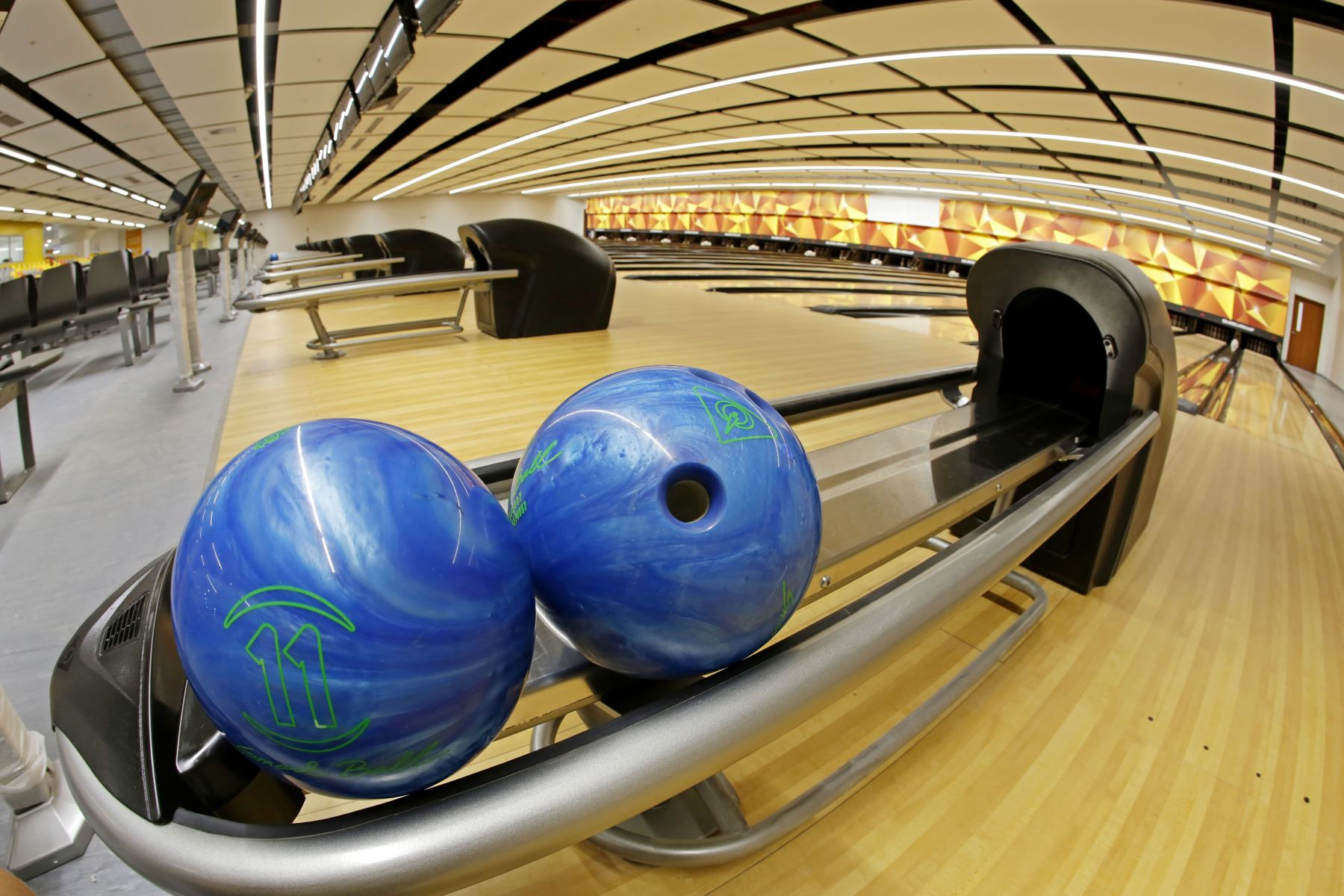 Lima 2019 entregará el Bowling Center de la Videna a la Federación Deportiva Peruana de Bowling. Foto: AFP