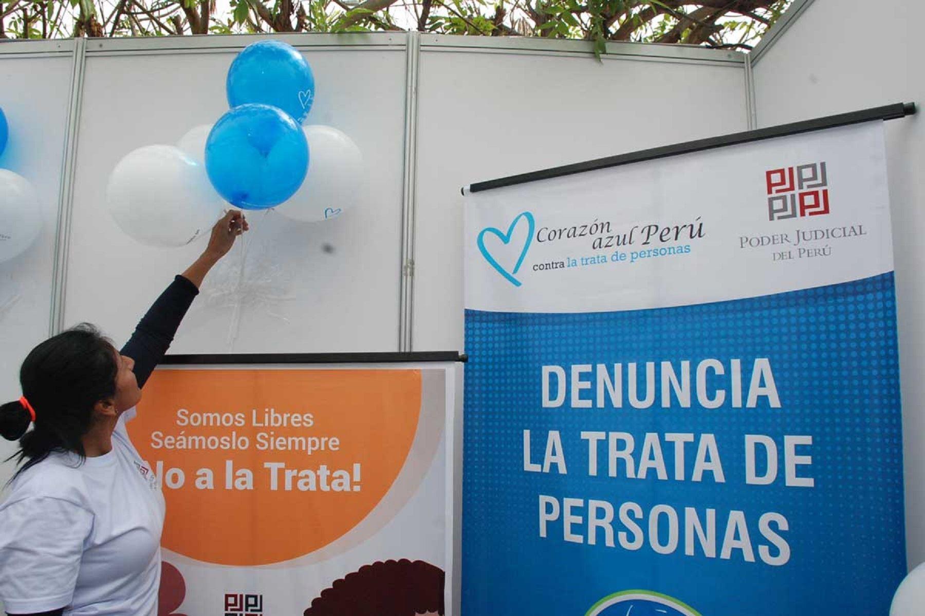 Campaña contra la trata de personas. Foto: Difusión.