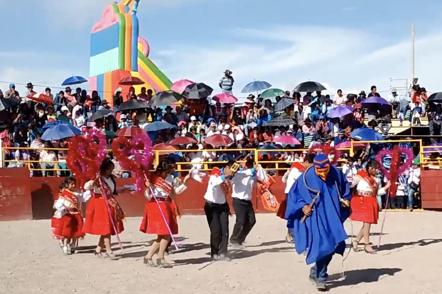 Atipanakuy navideño de la provincia de Huanca Sancos (Ayacucho) fue declarado Patrimonio Cultural de la Nación. Foto: ANDINA/Difusión
