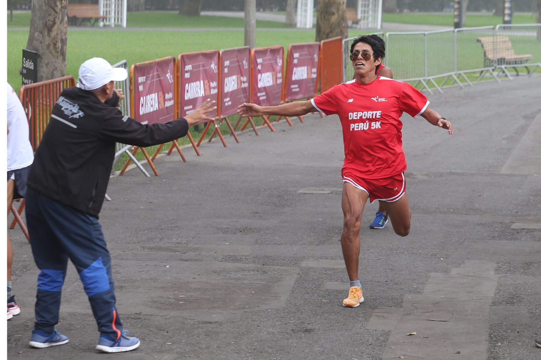 Carrera Deporte Perú 5k del IPD en reconocimiento a los deportistas que participarán en los Juegos Panamericanos y Parapanamericanos Lima 2019. Foto: ANDINA/Eddy Ramos