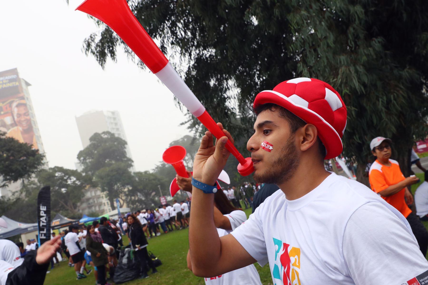 Carrera Deporte Perú 5k del IPD en reconocimiento a los deportistas que participarán en los Juegos Panamericanos y Parapanamericanos Lima 2019. Foto: ANDINA/Norman Córdova