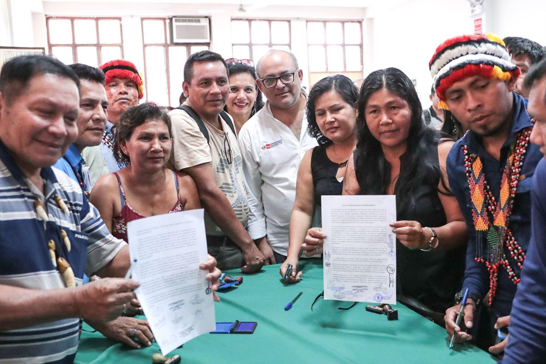 El MEM llegó a un acuerdo con las comunidades indígenas de Loreto para elegir, de manera conjunta, a consultores independientes para evaluar el estado del Oleoducto Norperuano.