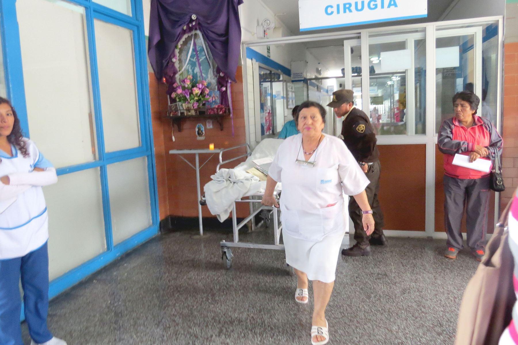 En las ciudades de Huaraz y Chimbote, región Áncash, se han reportado diez casos del síndrome de Guilluian-Barré.