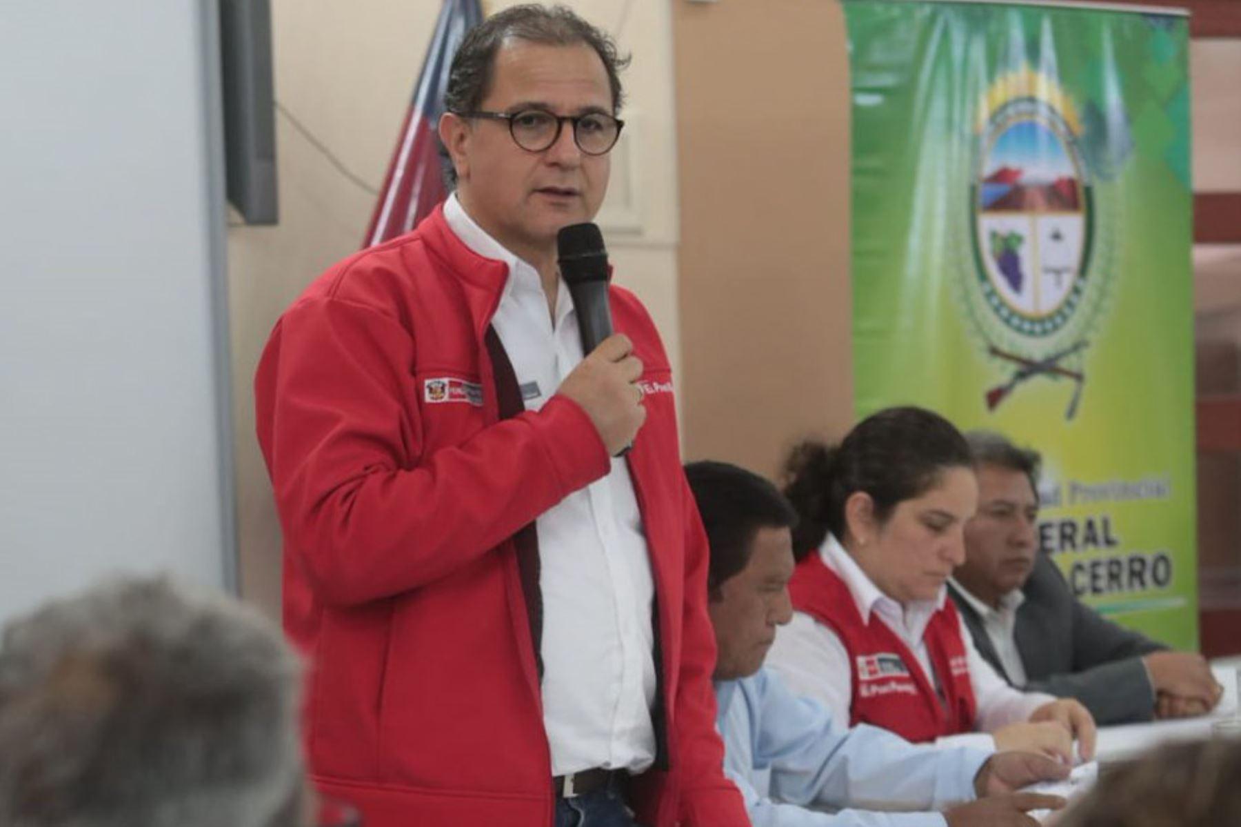 Ministro de Energía y Minas, Francisco Ísmodes.Foto:  ANDINA/Difusión