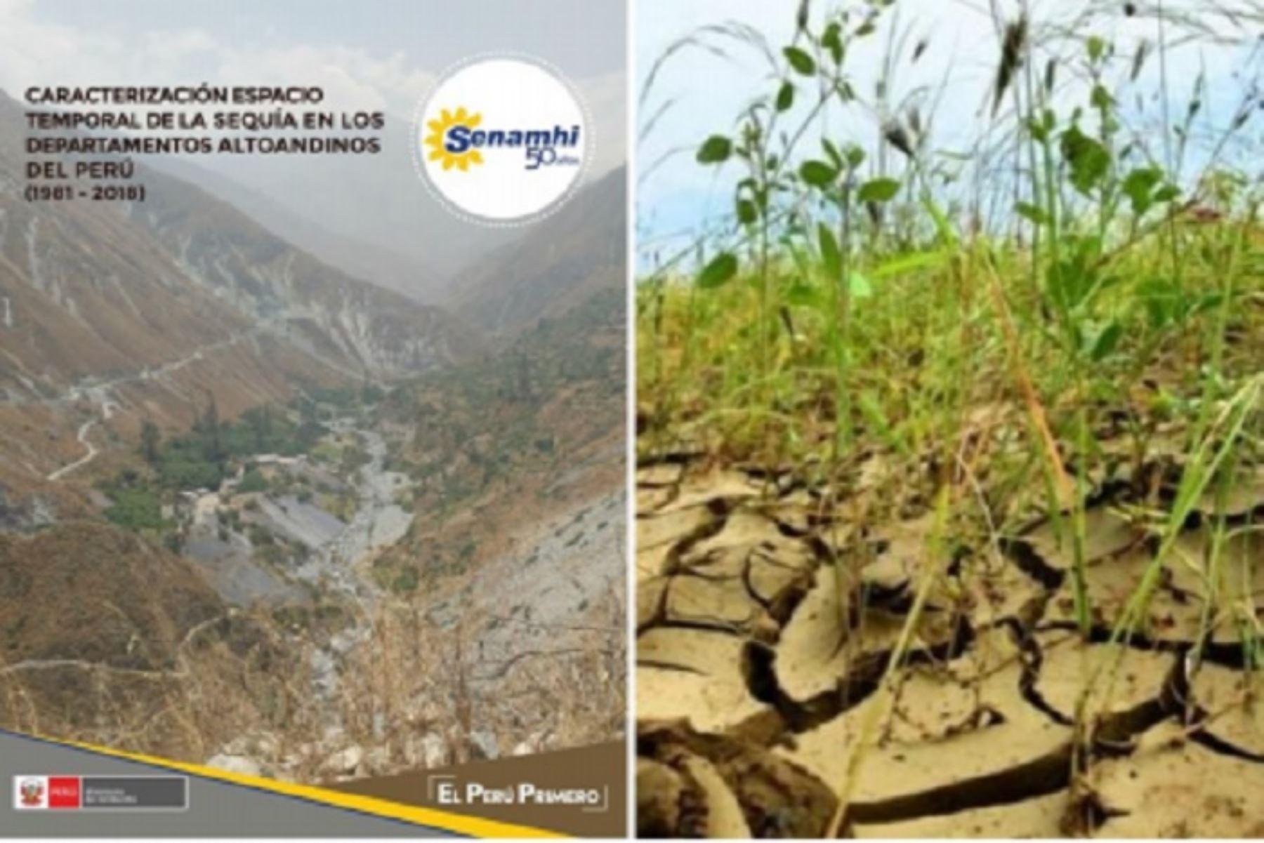 """En los últimos 37 años se han identificado en nuestro país 10 episodios de sequías severas, explica el estudio de """"Caracterización espacio temporal de la sequía en los departamentos altoandinos del Perú (1981-2018)"""" elaborado por especialistas del Grupo de Trabajo de Sequías (GTS) del Servicio Nacional de Meteorología e Hidrología del Perú (Senamhi)."""