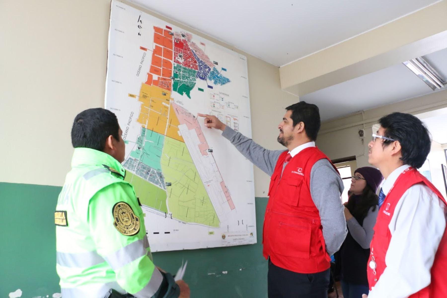 En operativo Seguridad Ciudadana 2019 la Contraloría verificará si mapas de riesgos y delitos de las comisarías están actualizados.