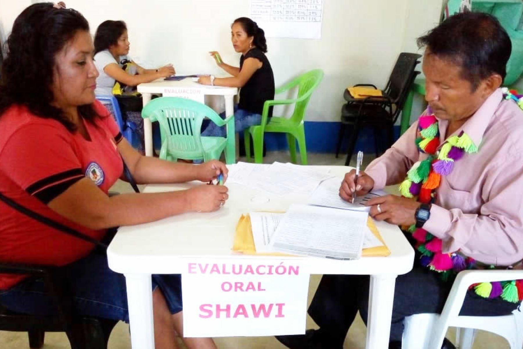 Más de 70,000 docentes fueron evaluados en lenguas originarias por el Ministerio de Educación. ANDINA/Difusión