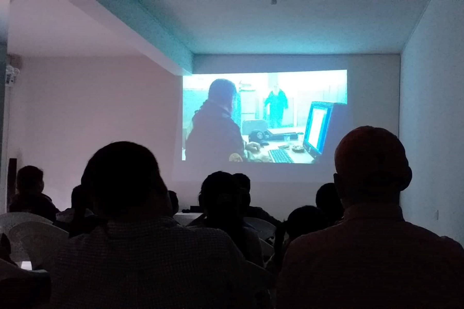 Ministerio de Cultura destaca implementación de nueva sala de cine alternativo en Ayacucho. ANDINA/Difusión