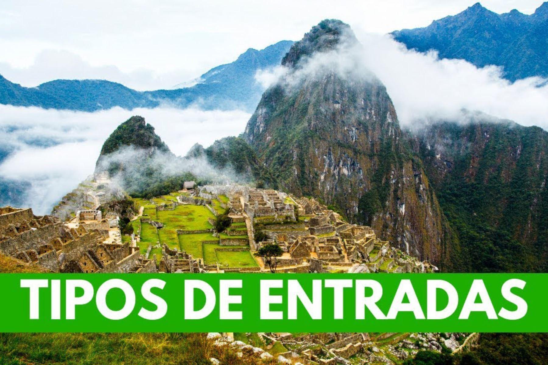 Machu Picchu: conoce los tipos de boletos de ingreso al santuario histórico inca