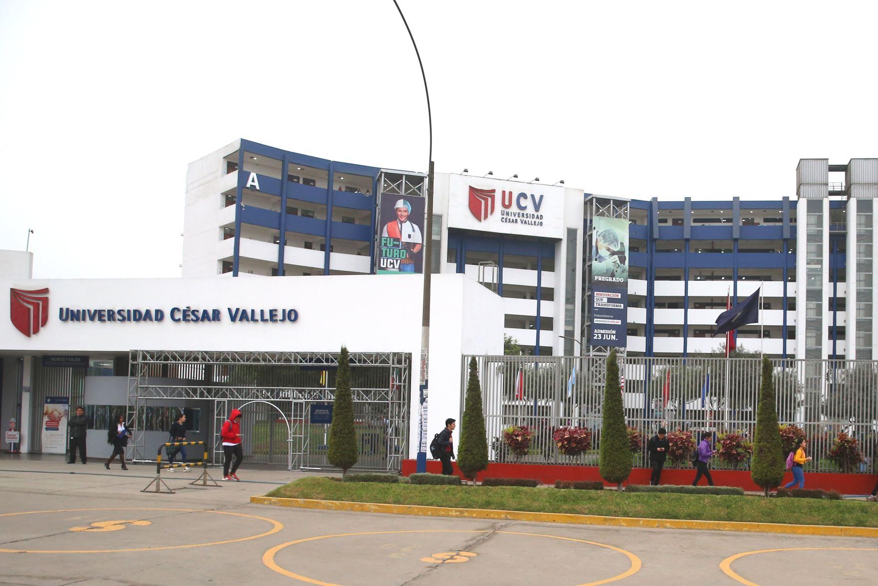 UCV sinceró oferta académica e incrementó docentes calificados. Foto: ANDINA/Vidal Tarqui