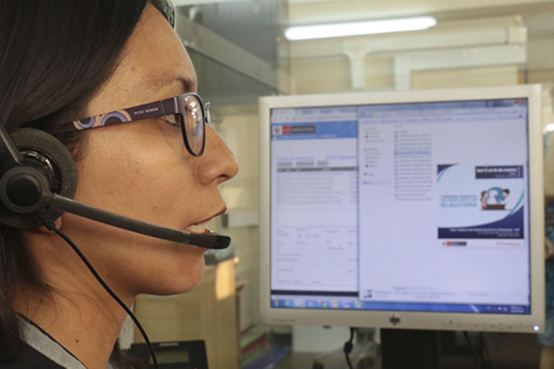 Línea gratuita 113 Salud del Minsa atendió más de 400 llamadas que requerían información del Síndrome de Guillain-Barré.