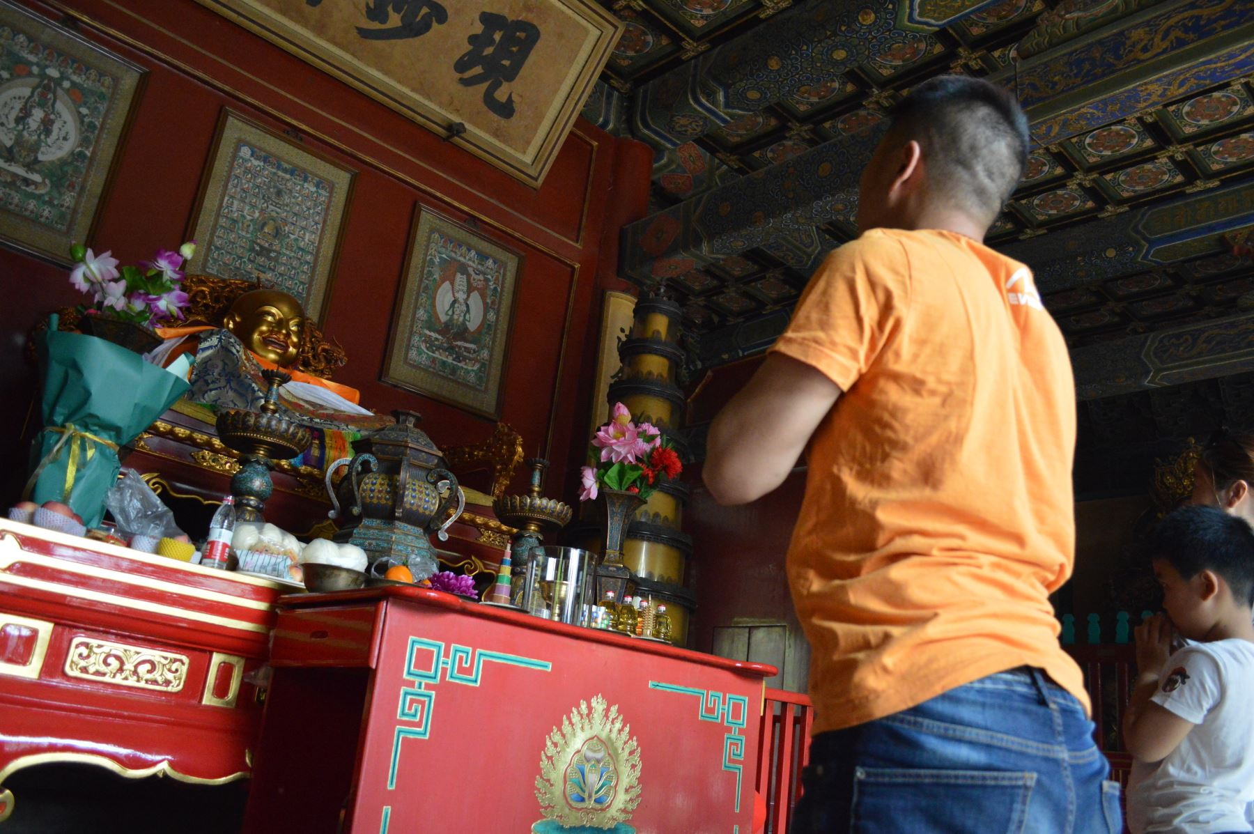 Templo de los Lamas en Beijing, China. Foto: ANDINA/Víctor Véliz