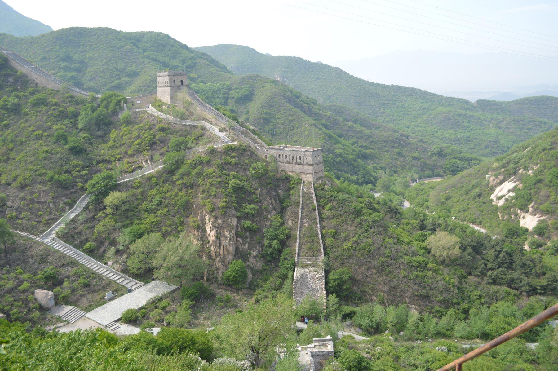 Gran Muralla de China, en Beijing. Foto: ANDINA/Víctor Véliz
