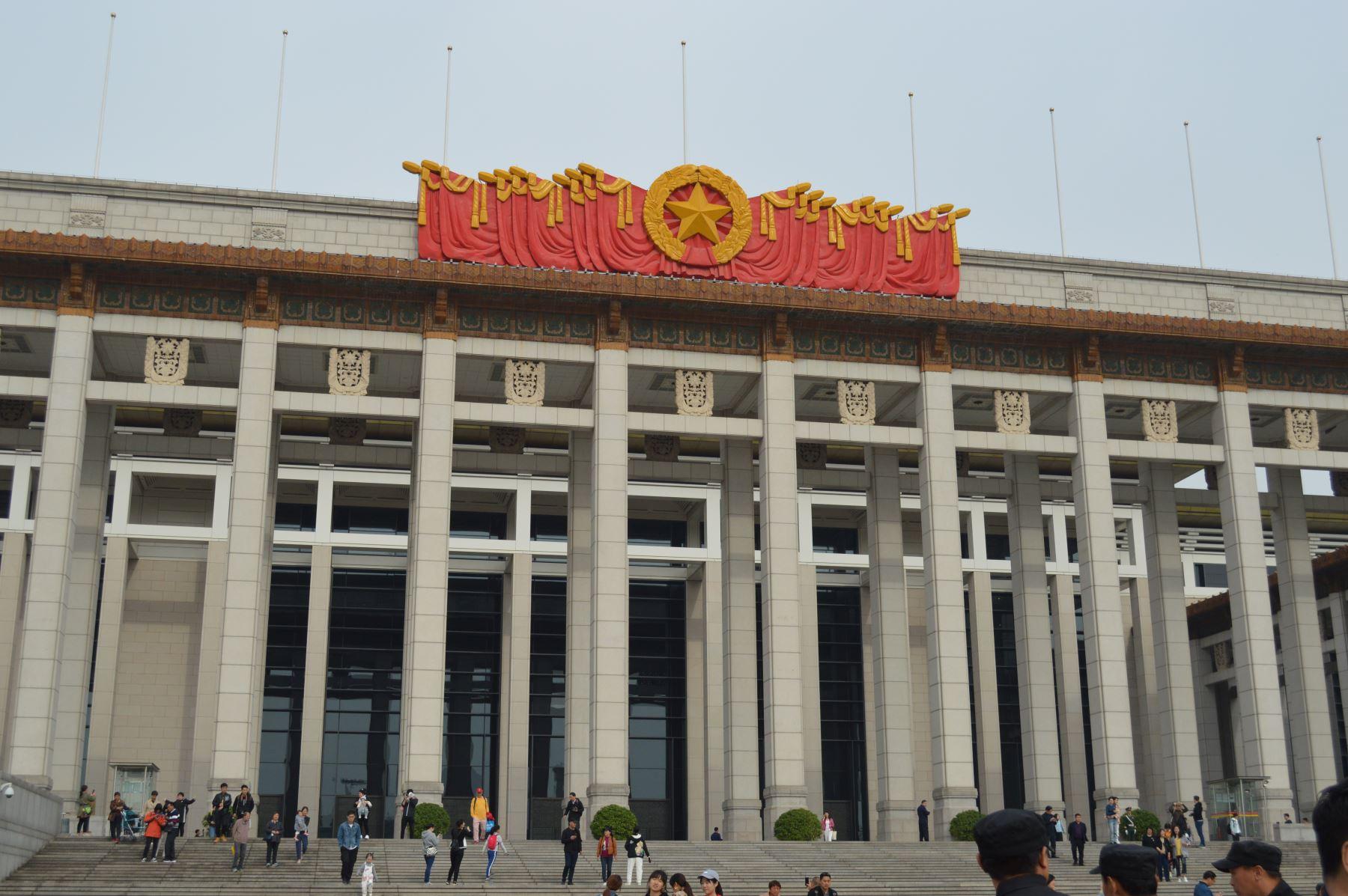 Museo Nacional de Beijing, China. Foto: ANDINA/Víctor Véliz.