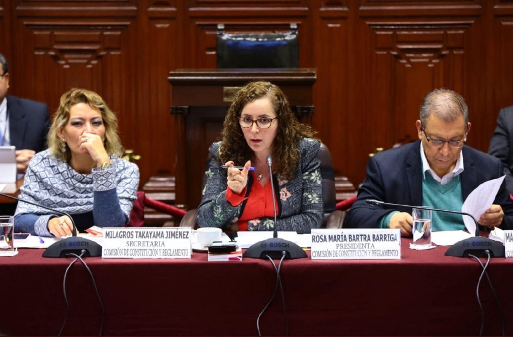 Comisión de Constitución.