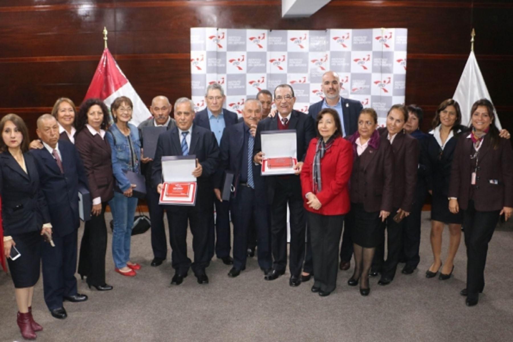 IPD rindió un homenaje a sus servidores públicos al conmemorar 38 aniversario