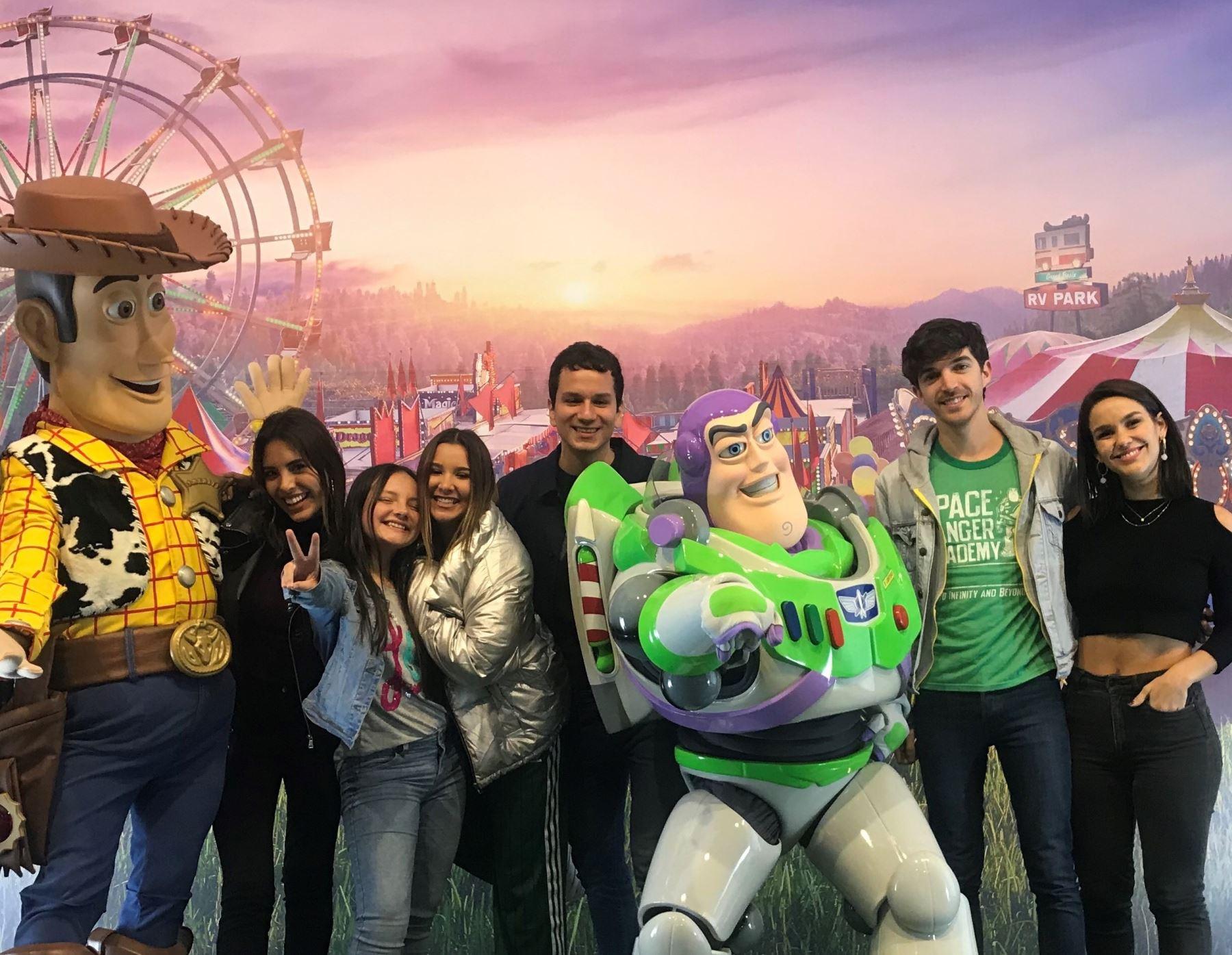 Los personajes de Toy Story 4 visitarán los puntos de acopio donde se recolectarán juguetes para la asociación Make A Wish.